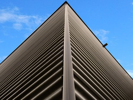 Building, Facade, Sheet, Metal, Corrugated Sheet