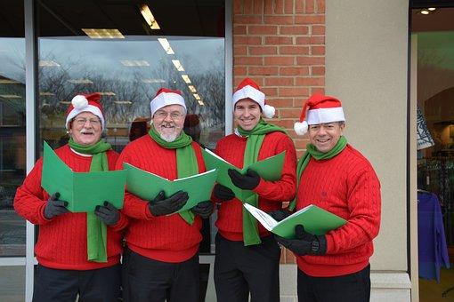Christmas Carolers, Gentlemen Carolers