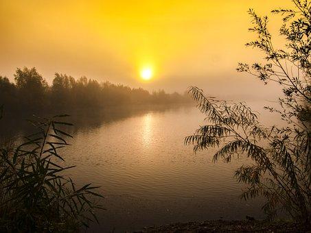 Gravel Pond, Pond, Water, Lake, Landscape, Nature