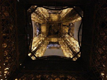 Eiffel Tower, Paris, Tower, Eiffel, France