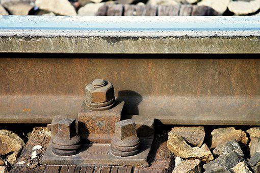 Rail Track, Stainless, Threshold, Screw, Track, Old
