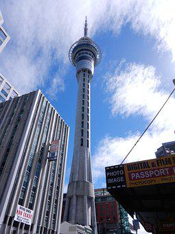 New Zealand, Auckland, Tower