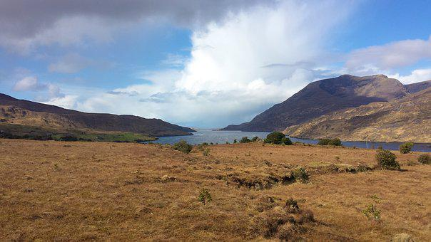 Mountain, Landscape, Nature, Ireland