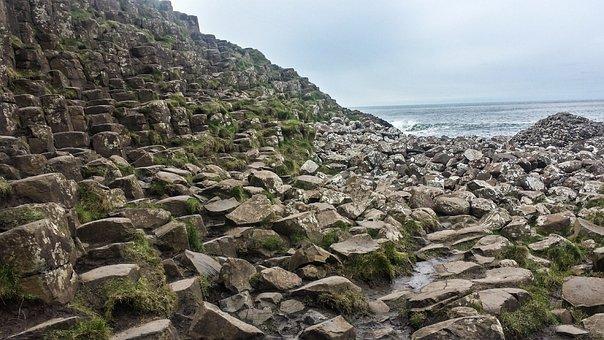 Rock, Mountain, Landscape, Nature, Ireland