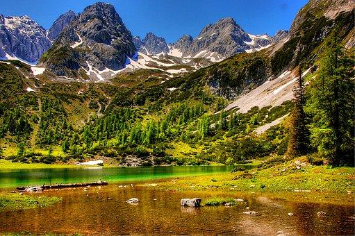 Tyrol, Alpine, Mountains, Austria, Tyrolean Alps