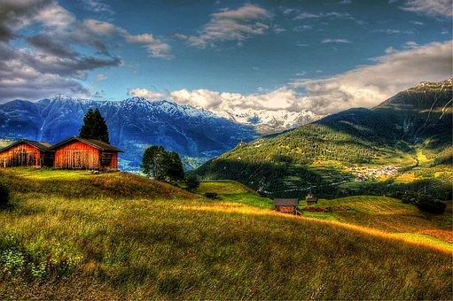 Fiss, Austria, Mountains, Nature, Tyrol, Outlook