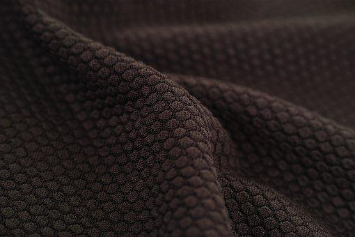 Brown, Fabric, Textile, Macro, Detail, Pattern, Texture