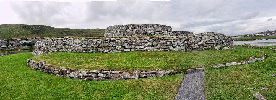 Clickimin, Shetland Isles, Broch, Lerwick, Historical