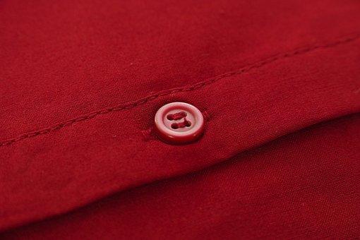 Button, Shirt, Fabric, Textile, Macro, Detail, Pattern