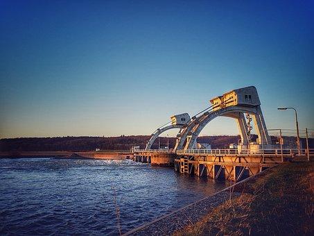 Driel, Weir, Weir Driel, Gelderland, Netherlands