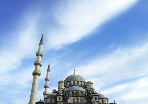 Cami, Islam, Minaret, Religion, Istanbul, Prayer
