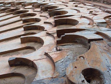 Marrakech, Facade, Stone Arch, Goal, Stone Gate, Ruin