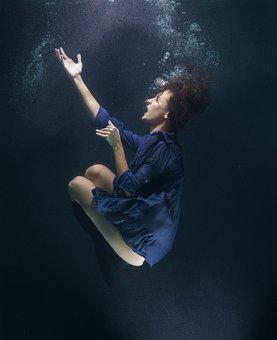 Underwater, Studio, Life, Exposure, Under Water