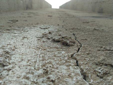 Rift, Broken, High-rise, Split, Crack, Wall, Surface