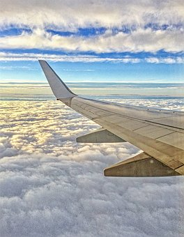 Aircraft, Flyer, Fly, Airport, Clouds, Air, Aviation