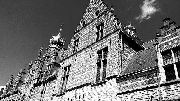 Bergen Op Zoom, Netherlands, Architecture, Old