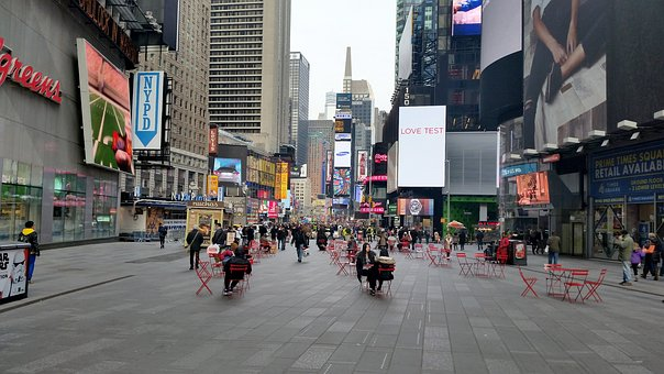 Times Square, Manhattan, New York, Architecture