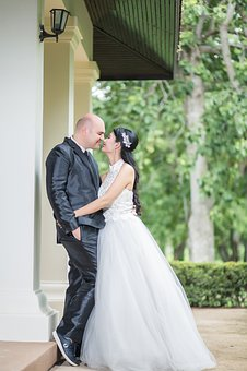 Bride And Groom, Wedding, Marry, White, Marriage, Bride