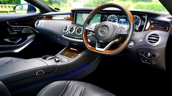 Car, Interior, Vehicle, Automobile, Dashboard, Control
