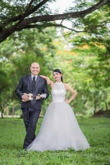 Guitar, Marriage, Wedding, Wedding Dress, Bride, Love