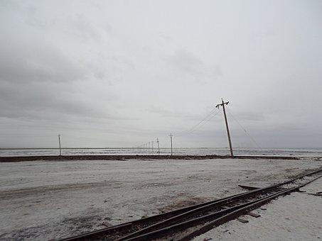 Check Card Salt Lake, White, The Scenery