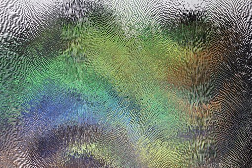 Frosted Glass, Background, Psychedelic, Art, Pattern