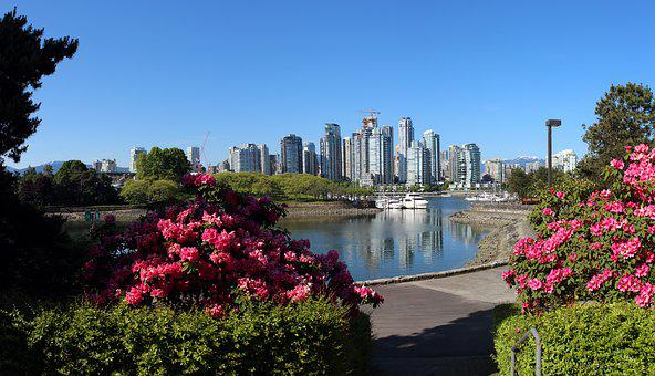 Vancouver, False Creek, City Panorama, Cityscape