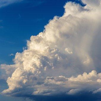 The Sky, Cloud, Storm, Summer