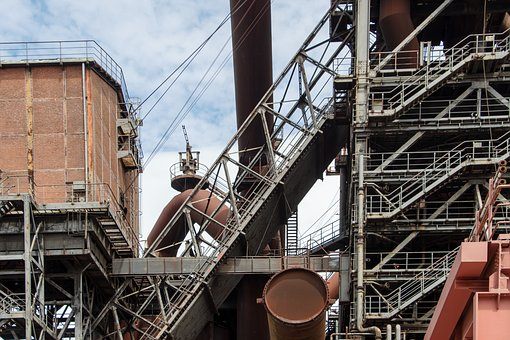 Lost Places, Duisburg, Old, Decay, Factory, Industry