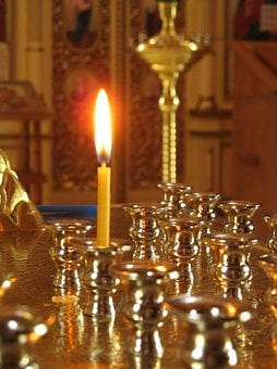 Church, Candle, God, Prayer, Worship, Religion