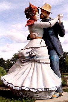 Grounds For Sculpture, New Jersey, Sculpture, Dancers