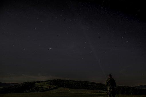 Night, Hvizdy, The Sky