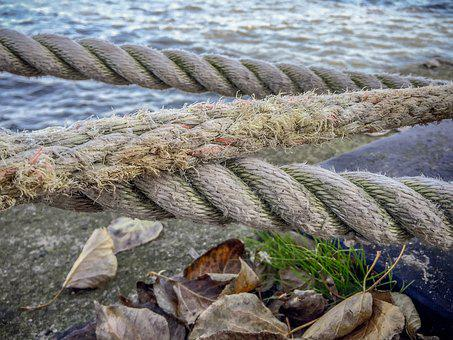 Rope, Knot, Ship, Dew, Knotted, Knitting, Cord