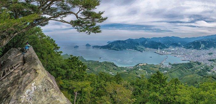View, 馬越峠, Kumano Ancient Road, Trekking