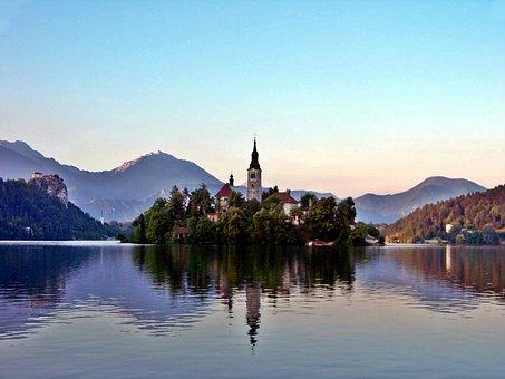 Lake Bled, Slovenia, Karawanken, The Gorenjska Region