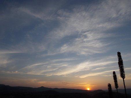 Nature, Sunset, Eventide, Landscape, Beautiful, Ceu
