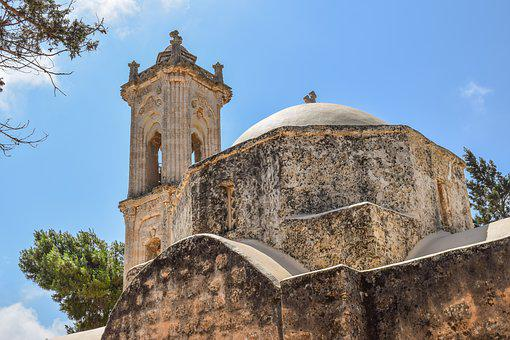 Cyprus, Sotira, Metamorfosis, Medieval, Church