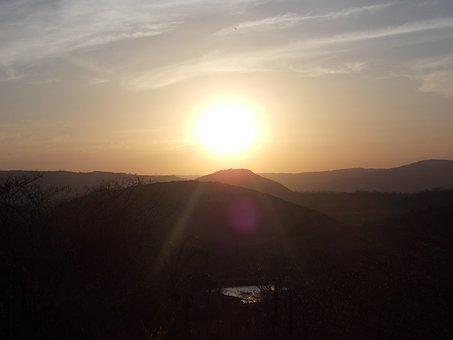 Nature, Sol, Rio, Landscape, Eventide, Dawn, Sunset