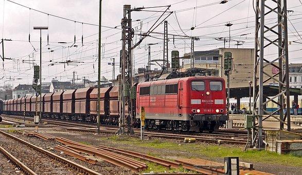 Erzzug, Block Train, Leerzug, Transit, Trier Hbf