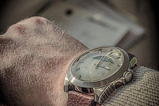 Business, Work, Travel, Clock, Wrist Watch, Serious