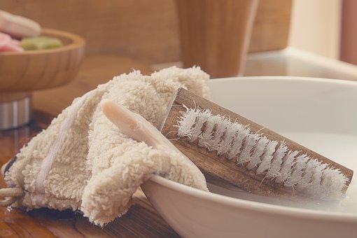 Washcloth, Hand Brush, Wash Brush, Soap, Wash Bowl