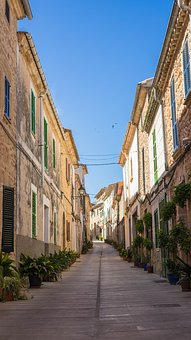 Alley, Old Town, Narrow Lane, Homes, Passage, Truss