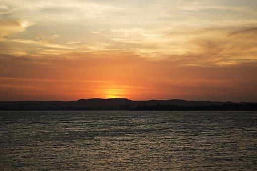 Sunset, Afternoon, Brazil, Bahia, Eventide