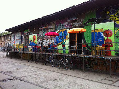 Berlin, Grafitti, Street Art, Art, Artist, Mural