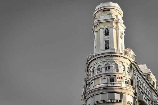 Valencia, Building, Background, Europe, City, Spain
