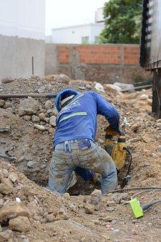 Mason, Overcoming, Labor, Construction, Work