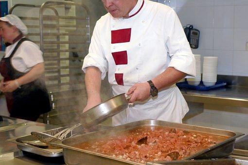 Kitchen, Chef, Food, Stew, Restaurant, Gastronomy