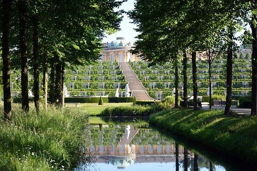 Park Sanssouci, Shot Sanssouci, Historically, Baroque
