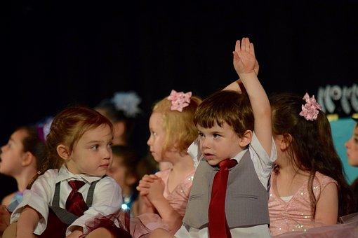 Children, Stage, Event, Boy, Girl, Performance, Dancing