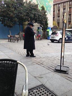 Man, Street, Plaza, Male, Urban, Person, Adult, Human